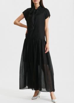 Длинное платье Kaos с бантом на шее, фото