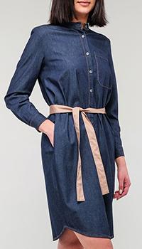 Джинсовое платье-рубашка Peserico, фото