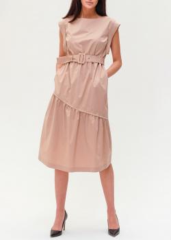 Однотонное платье Peserico с поясом, фото
