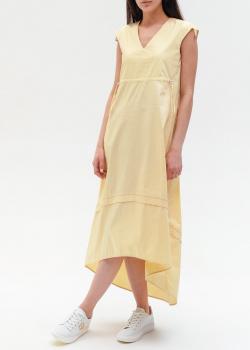 Желтое платье Peserico с асимметричным подолом, фото