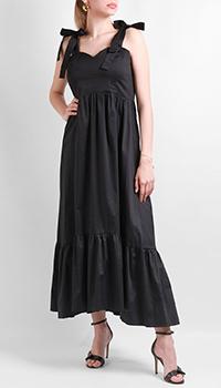 Черное платье Max&Moi с бантами, фото