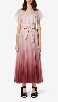 Розовое платье Red Valentino с пышной юбкой, фото