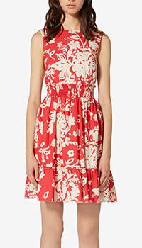 Платье Red Valentino с цветочным узором, фото