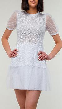 Платье Red Valentino белого цвета, фото