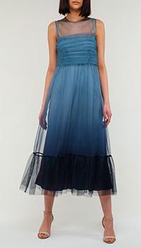 Платье Red Valentino синего цвета, фото