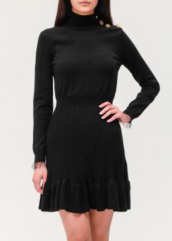 Трикотажное платье Red Valentino с длинным рукавом, фото