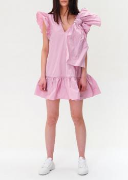 Розовое платье Red Valentino с объемным бантом, фото