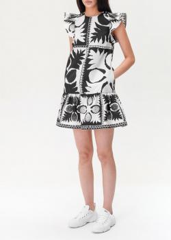 Платье до колен Red Valentino с оборками, фото
