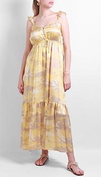 Шелковое платье Max&Moi с цветочным принтом, фото