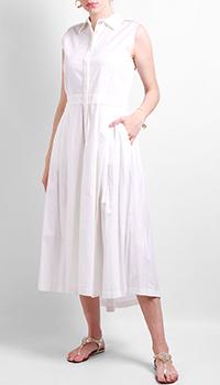 Платье-рубашка Max&Moi белого цвета, фото