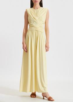 Желтое платье Isabel Marant со сборкой, фото