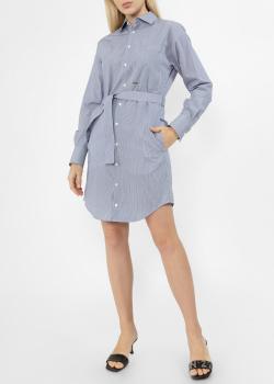 Платье-рубашка Dsquared2 в мелкую полоску, фото