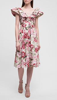 Платье P.A.R.O.S.H. с принтом, фото
