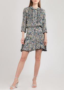 Короткое платье Zadig & Voltaire с кружевным кантом, фото