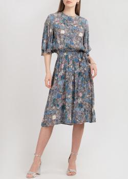 Платье средней длины Zadig & Voltaire с флористическим принтом, фото
