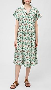 Платье-рубашка Ballantyne из шелка, фото