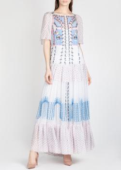 Шелковое платье Temperley London с широкими рукавами, фото