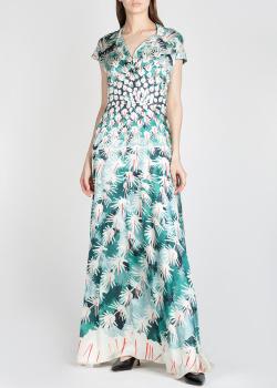 Шелковое платье Temperley London с принтом, фото
