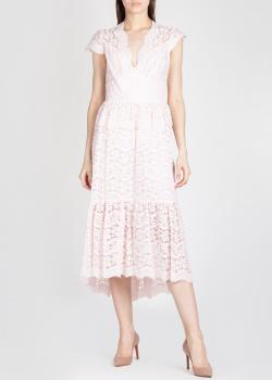 Платье-миди Temperley London из розового кружева, фото