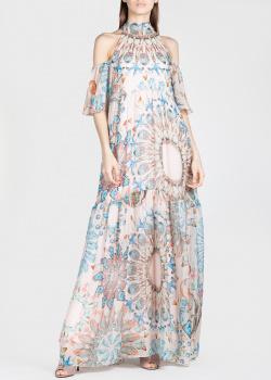 Шелковое платье Temperley London с открытыми плечами, фото