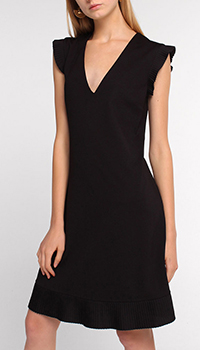 Платье Twin-Set черного цвета до колен, фото