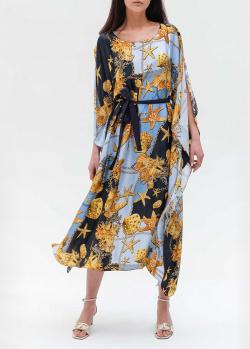 Платье-миди Twin-Set с морским принтом, фото