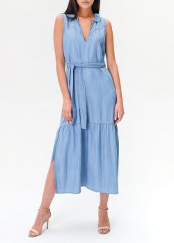 Джинсовое платье Twin-Set с разрезами, фото