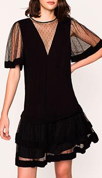 Коктейльное платье Twin-Set черного цвета, фото
