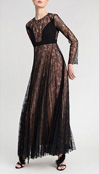Платье Twin-Set кружевное с плиссировкой, фото