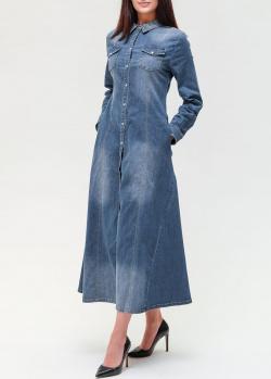 Джинсовое платье Twin-Set с длинным рукавом, фото