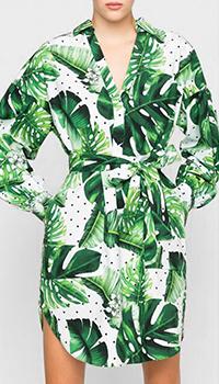 Платье-рубашка Twin Set Simona Barbieri с поясом, фото