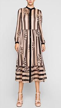 Длинное платье Twin-Set в полоску, фото