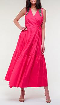 Розовое платье Twin-Set с вышивкой, фото