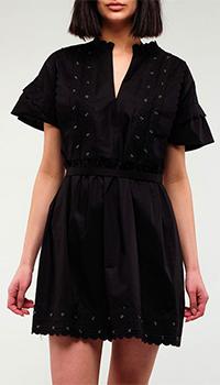 Повседневное платье Twin-Set черного цвета, фото