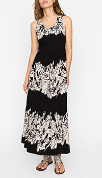 Черное платье Twin-Set с открытой спиной, фото