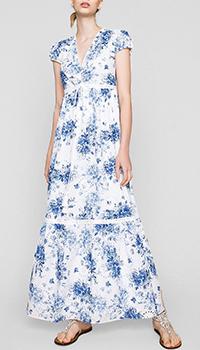 Женское платье Twin-Set с цветочным принтом, фото