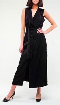 Длинное платье Twin-Set черного цвета, фото