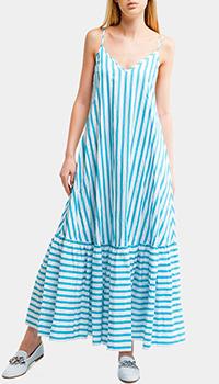 Платье Liu Jo в бело-голубую полоску, фото