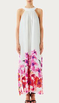 Длинное платье Liu Jo с цветочным принтом, фото