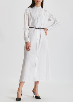Платье-рубашка Max Mara Leisure Ussuri в широкую полоску, фото