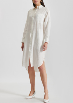 Льняное платье-рубашка Max Mara Leisure Procida, фото