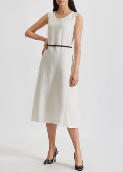 Льняное платье-миди Max Mara Leisure Nettuno, фото