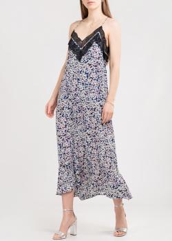Платье на тонких бретелях Zadig & Voltaire с цветочным принтом, фото