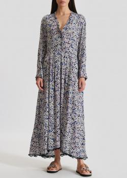 Длинное платье Zadig & Voltaire с цветочным принтом, фото