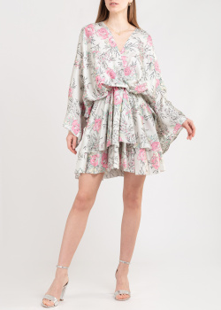 Шелковое платье Zadig & Voltaire с широкими рукавами, фото