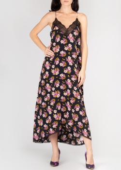 Шелковое платье Zadig & Voltaire с цветочным принтом, фото