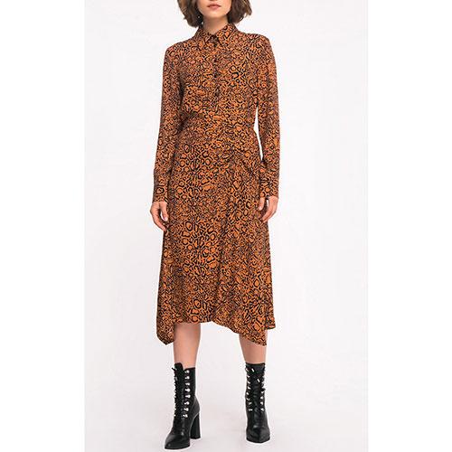 Платье-рубашка Shako с ассиметричной юбкой, фото