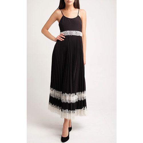 Платье-миди Twin-Set с плиссированной юбкой, фото