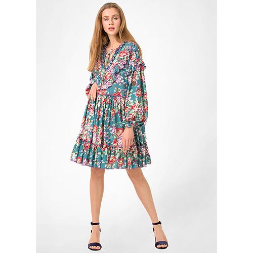 ☆ Бирюзовое платье WeAnnaBe с цветочным узором 83202 купить в Киеве,  Украине - Цены на Бирюзовое платье WeAnnaBe с цветочным узором 83202 в  интернет-магазине   Rechi.Ua