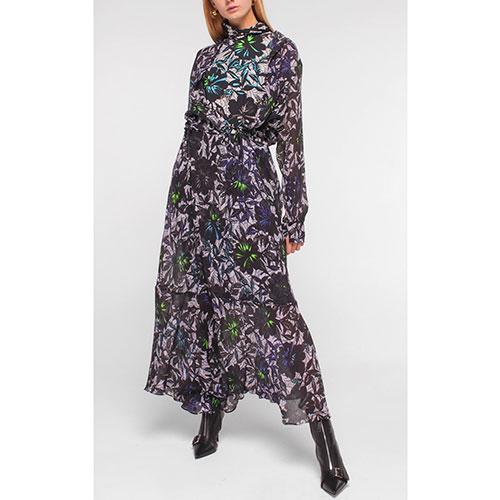 Длинное платье Dorothee Schumacher с принтом, фото